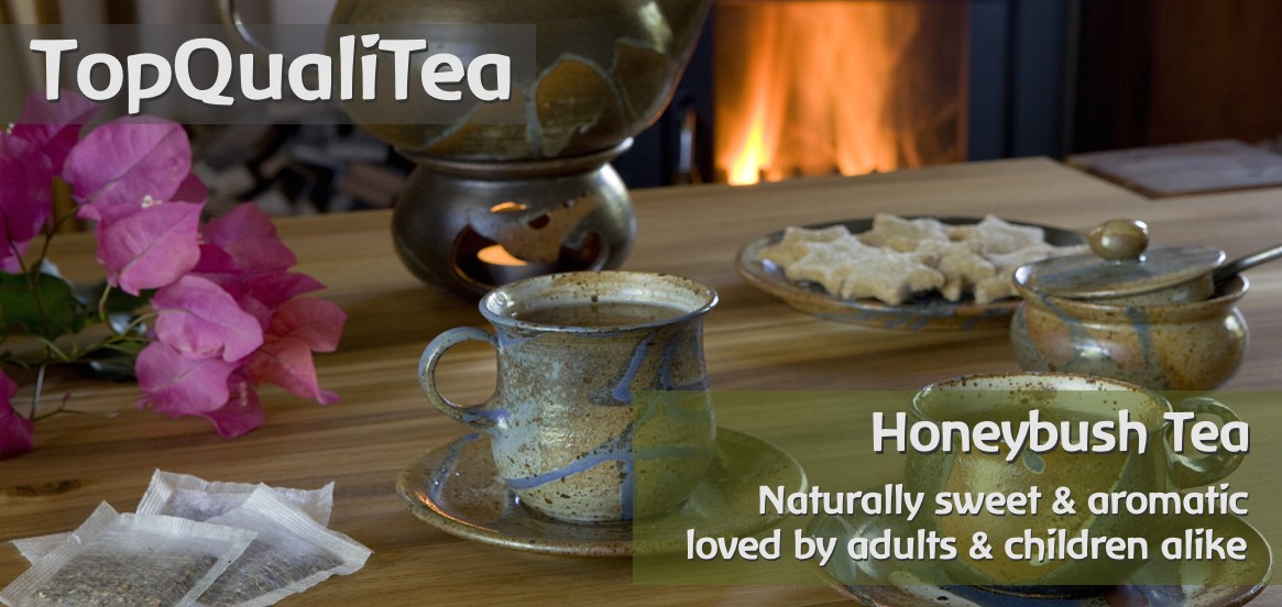 TopQualiTea - organic and fairtrade certified Honeybush Tea from South Africa.