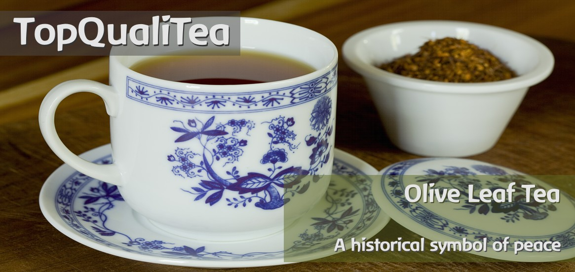 TopQualiTea - organic and fairtrade certified Olive Leaf Tea from South Africa.