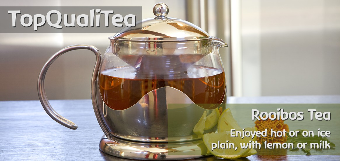 TopQualiTea - organic and fairtrade certified Rooibos Tea from South Africa.